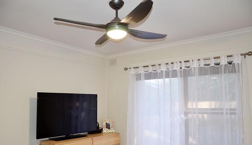 Rental Properties Kensington Park   Ceiling Fan