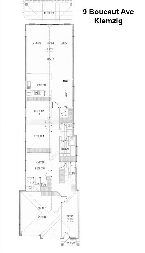 9 Boucaut Avenue, Klemzig Floor Plan