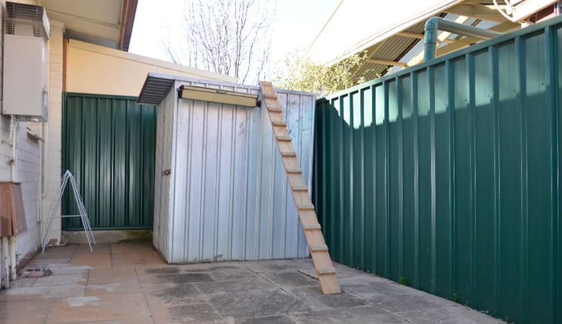 Unit For Rent Kensington Park   Rear Courtyard