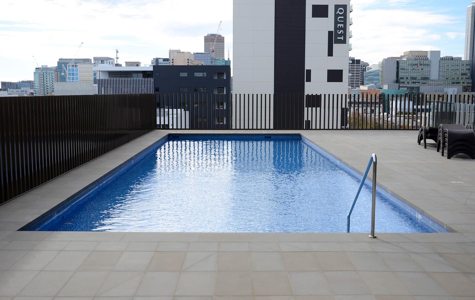 Vue On King William Pool | Rental Properties Adelaide