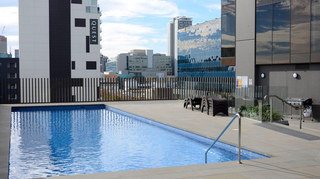 Vue On King William   Rental Properties Adelaide   Pool