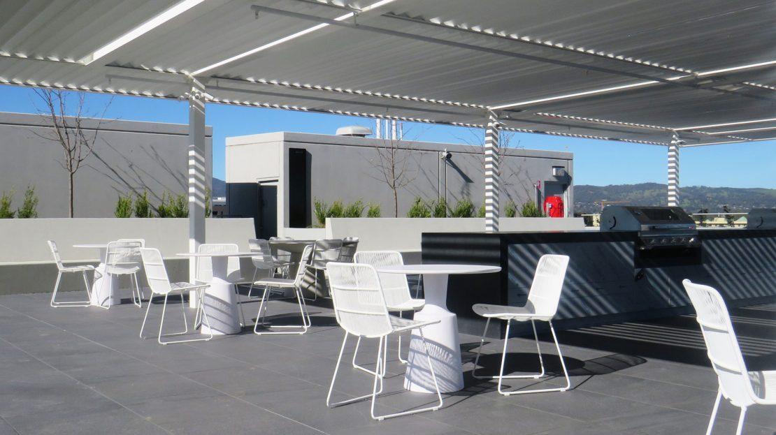 Kodo Apartments Adelaide | Fooftop BBQ | Salvan